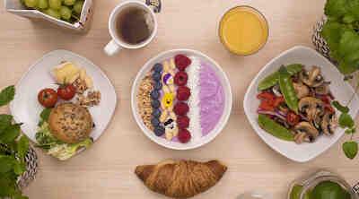 Puistokahvila Makian aamiainen oulu