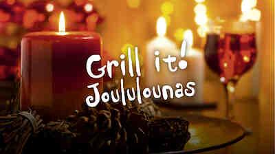 Grill It:n joululounas