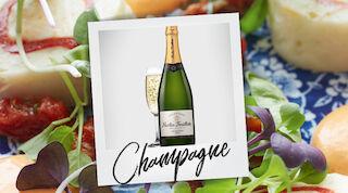 Frans & Camille Chérie samppanja Nicolas Feuillatte
