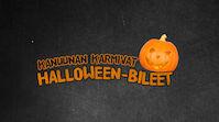 Kanuunan halloween-bileet
