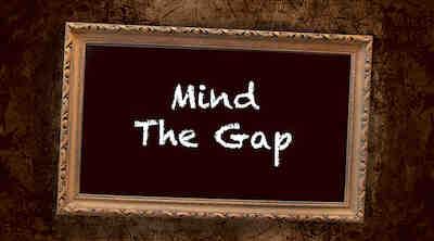 Mind the Gap Lampussa