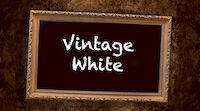 Vintage White Lampussa