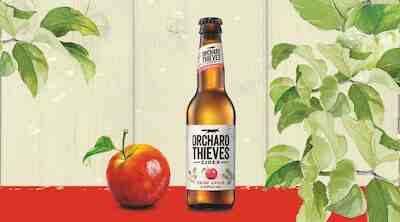 Orchard Thieves Semi-Dry Apple Cider S-Etukortilla 6,90 €