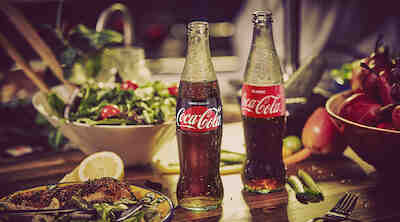 coca-cola, coca-cola zero sugar, etu 1,90 €