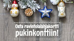 Anna herkkuhetki lahjaksi, saat arvosetelin HOK-Elannon ravintoloihin!
