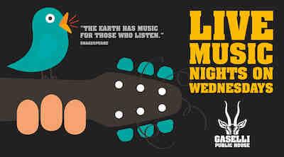 live music keikat pub gaselli, musiikki tapahtumat helsinki