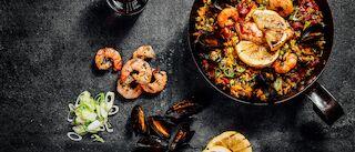 paella tapas espanjalainen ravintola
