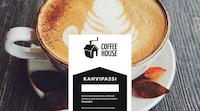 Coffee Housen kahvipassiin saat leiman jokaisesta nauttimastasi kahvikupillisesta. Kun sinulla on yhdeksän leimaa, saat 10. kahvin maksutta.