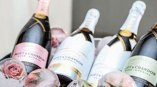 Champagne tasting Sing and Poressa Helsinkin keskustassa