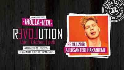 Iholla-ilta: Aleksanteri Hakaniemi 19.1.2018