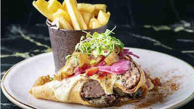 Burger Tortilla Revolution Elokuu