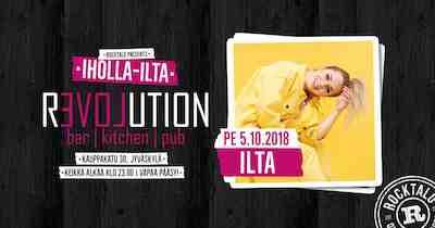 Iholla-ilta: Ilta 5.10.2018