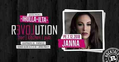 Iholla-ilta: Janna 7.12.2018
