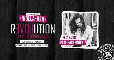 Iholla-ilta: Pete Parkkonen 2.3.2018