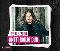 Iholla-ilta: Antti Railio Duo @ revolution 6.3.2020
