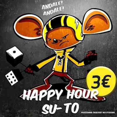 Freetime jkl happy hour 3€