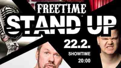 STAND UP @Freetime Jyväskylä la 22.2.2020 liveto.io