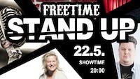 STAND UP @Freetime Jyväskylä pe 22.5.2020 liveto.io