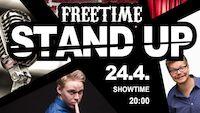 STAND UP @Freetime Jyväskylä pe 24.4.2020 liveto.io