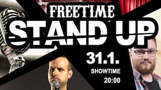 STAND UP @Freetime Jyväskylä pe 31.1.2020 liveto.io