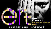 Alex Kunnari & Electric Retro Tour 17.3.2018 @ Bra