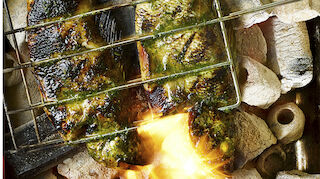 Inka Perch in flames