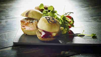 Triplets - 3 miniburgers
