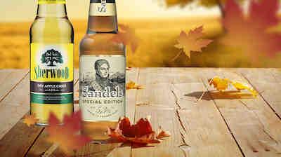 Omistajan etuna syys-joulukuussa 2016 Sandels IVA ja Sherwood omenasiideri.