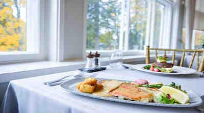 Kuha Villa Sandviken kesä uusi menu