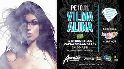 Amarillo Kotka Live! Vilma Alina 10.11.