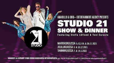 Studio 21 Show & Dinner