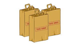 Take away -lounas 7,50