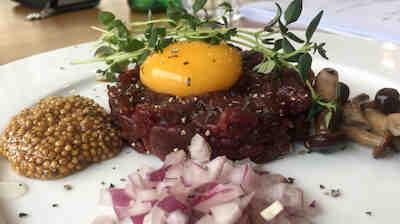 Ravintola Sulo härkätartar