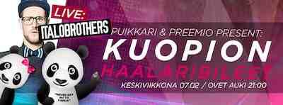 Kuopion Haalaribileet feat. ItaloBrothers Puikkari Kpo Ke 7.2.