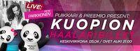 Kuopion Haalaribileet feat. Pete Parkkonen Ke 5.4. Puikkari Kuopio