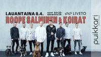 Roope Salminen & Koirat La 8.4. Puikkari Kuopio