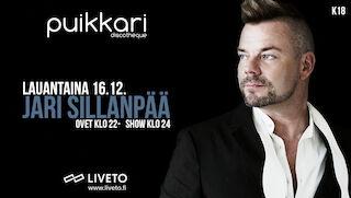 Jari Sillanpää La 16.12. Puikkari Kuopio