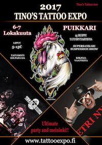Tino's Tattoo Expo 6.-7.10.2017 Puikkari Kuopio