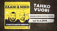 Koko kansan kiertue Tahkolla Niko Kivelä ja Zaani