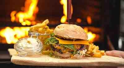 Smoky Burger buffet ravintola Hillsidessä