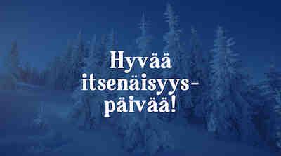 Presso Ykkösrastin itsenäisyyspäivän lounas 6.12.