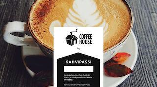Coffee Housen kahvipassi