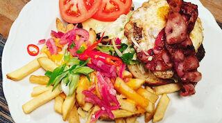 Icehearts burger Porin Amarillossa