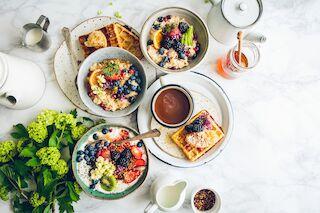 Kahvila, aamiainen, brunssi