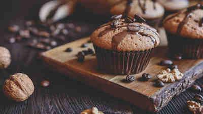 tarjous, muffinssi, suklaa, kahvila