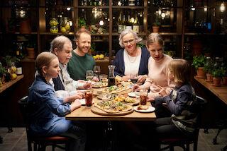 pikkujoulu, rosso, pizza, pasta, la serata romana, mikkeli,joulumenu