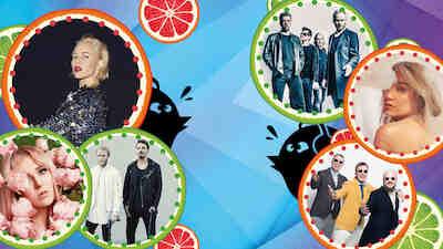 summerfest, savonlinna, festarii, kesä, 2020, Roope Salminen & koirat, Paula vesala, neljä ruusua, teflon brothers