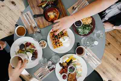 brunssi. aamiainen, lounas, eino, vintti, einon vintti, ravintola, mikkeli