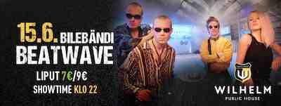 beatwave, mikkeli, wilhelm, bändi, bileet