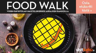 Food Walk Turku Visit Turku kävelykierros ravintolakierros